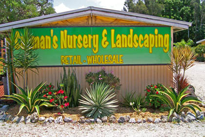 Sunman's Nursery & Landscaping Nursery and Landscaping Building