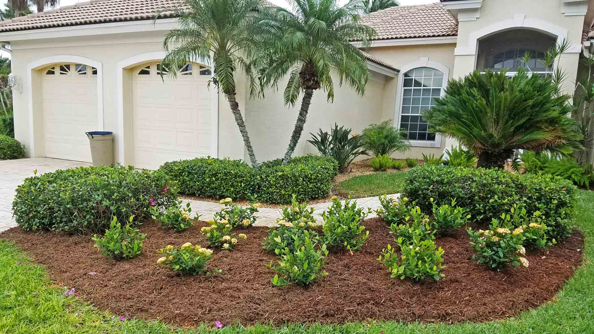 Professional landscaping design and installation by Sunman's Nursery in Fort Myers, FL.